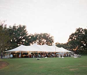 Tent rentals in the Wilmington area
