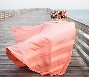 Linen rentals in the Wilmington area