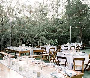 Table rentals in the Wilmington area