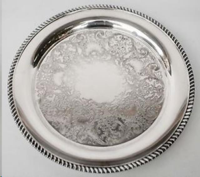 Where to find Silver Tray-15  Round in Wilmington