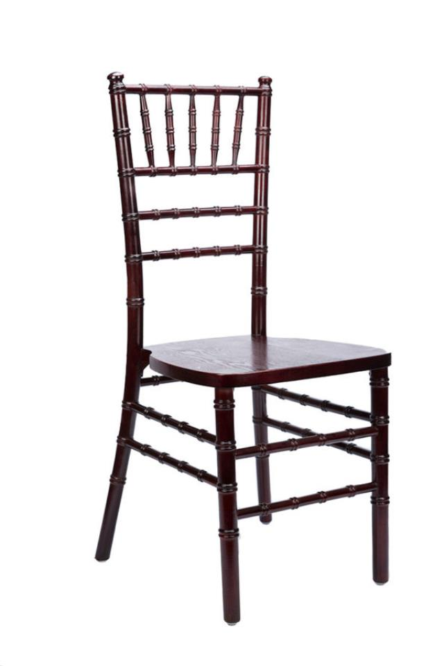 Where to find Chair Chiavari Mahogany in Wilmington