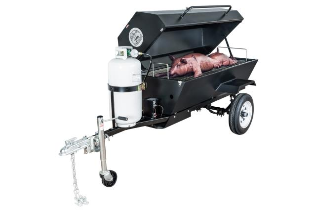 Where to find Lp gas pig cooker silver in Wilmington