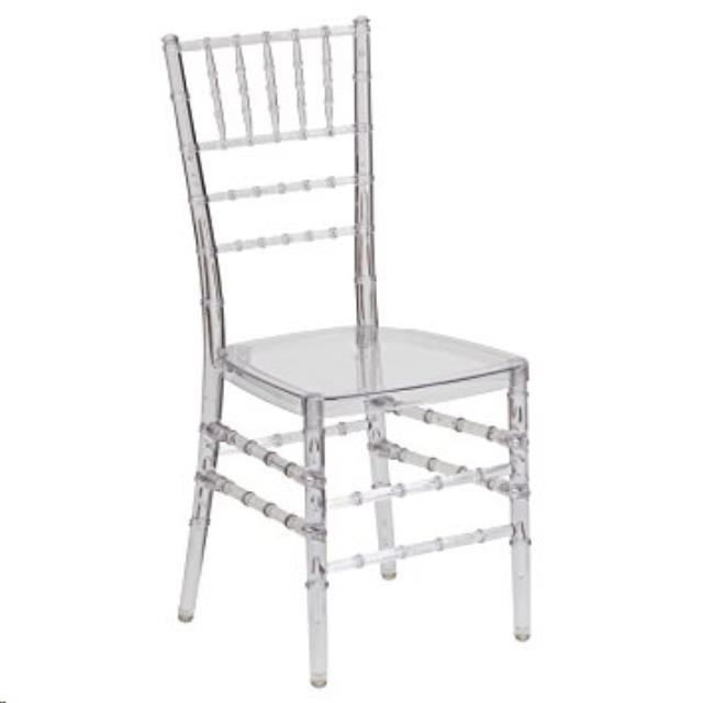 Where to find Chair Chiavari Clear in Wilmington