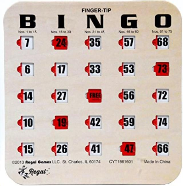 Where to find Bingo Cards in Wilmington