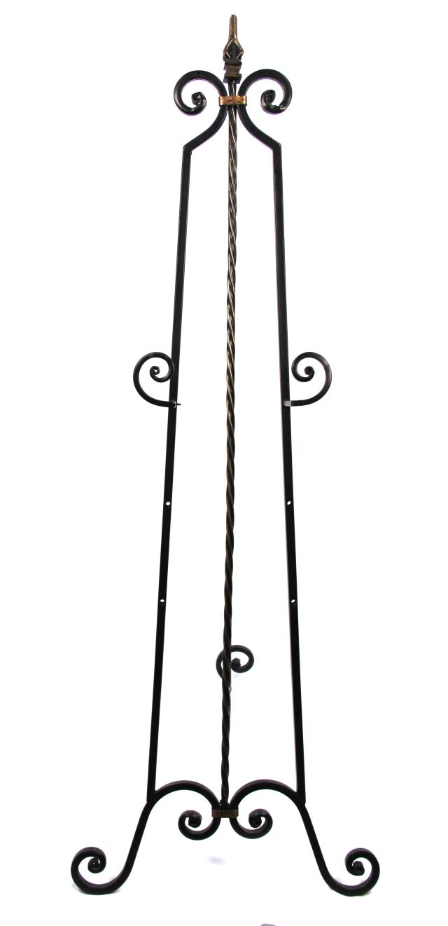 Where to find Black Wrought Iron Easel in Wilmington