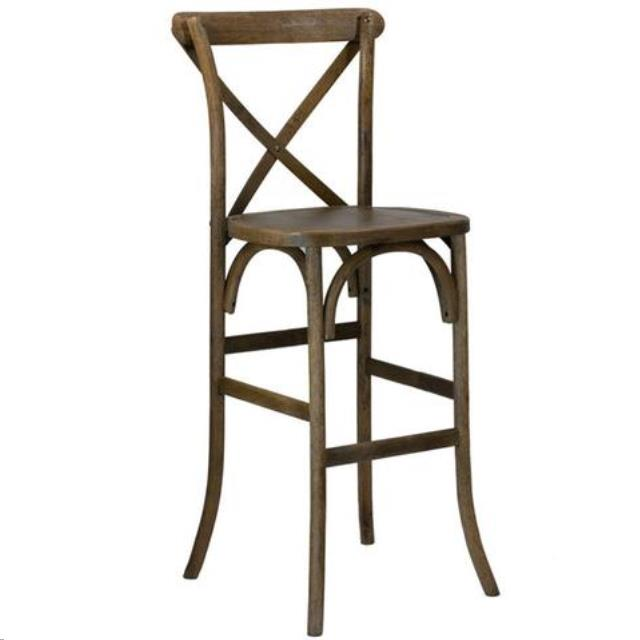 Where to find Chair Farm Bar Stool X Back Antique in Wilmington